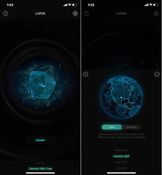 VPN Larva