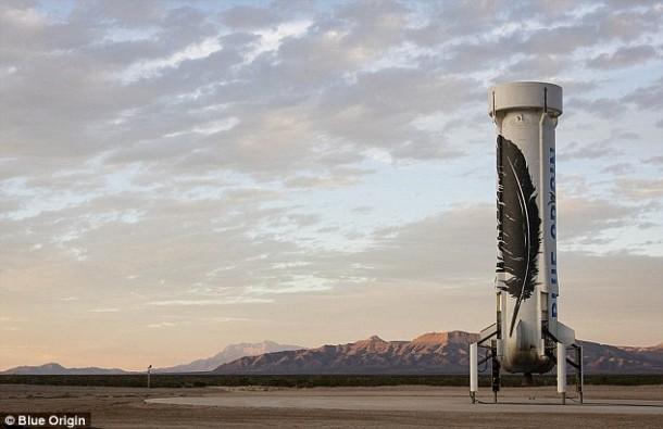 ¡El cohete reutilizable Blue Origin se lanzó y aterrizó con éxito, una vez más!
