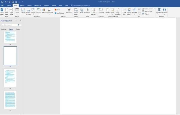 Cómo eliminar una página en Microsoft Word 3