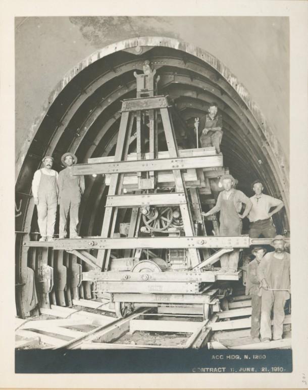 Esto es lo que construyeron para proporcionar agua a Nueva York en 1915 8