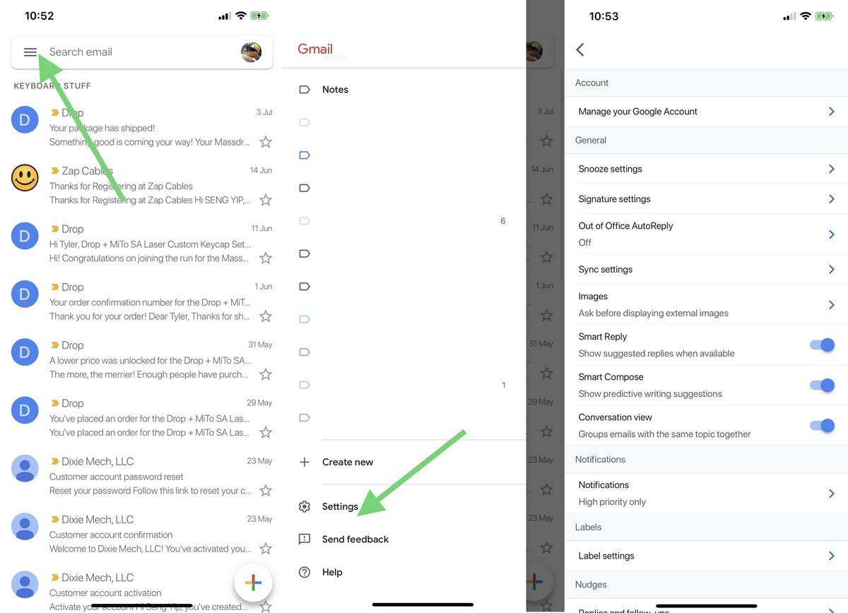 Cómo bloquear la carga de imágenes en Gmail 2