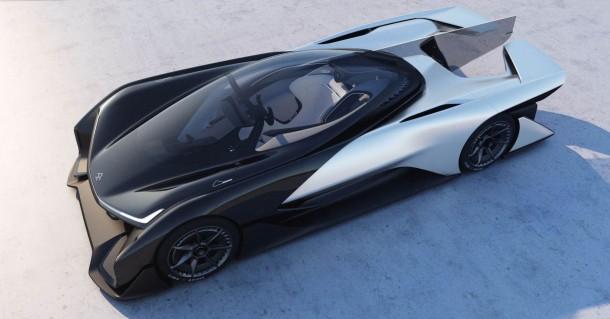 Faraday Future presenta el concepto FFZERO1 en el CES 2016
