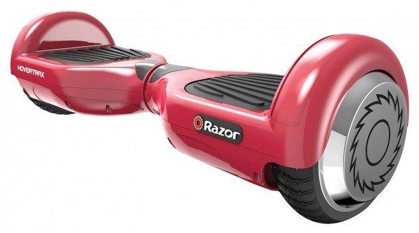 Razor Hovertrax Scooter eléctrico autobalanceado, rojo