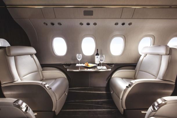 5 jets privados con los que puedes soñar 5