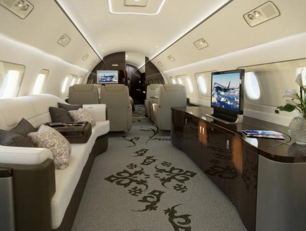 5 jets privados con los que puedes soñar 2