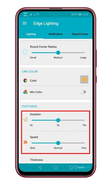 Cómo obtener funciones de iluminación de borde en cualquier dispositivo Android 1