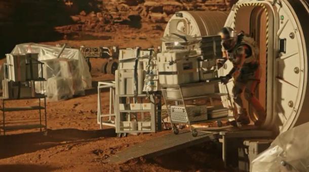 Así es como la cinta adhesiva salvó la vida de Matt Damon en Marte (7)