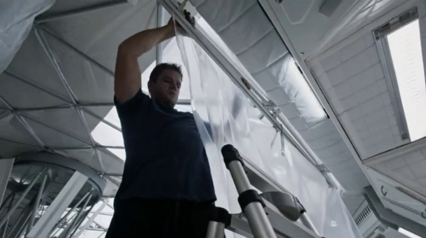 Así es como la cinta adhesiva salvó la vida de Matt Damon en Marte (9)