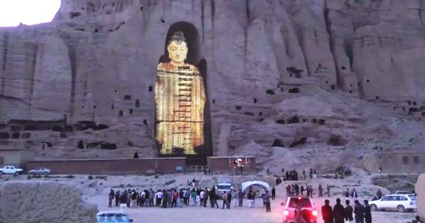 El Buda de Bamiyan de Afganistán resucitó con láser 3D 3