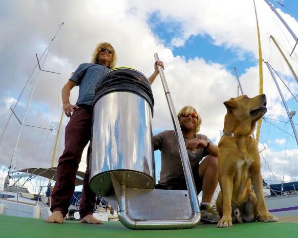 Seabin es ecológico y elimina el plástico