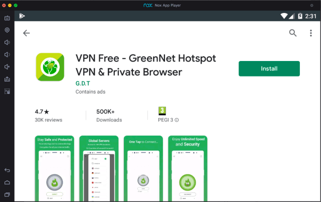 greennet-vpn-download-to-pc-with-nox-app-player