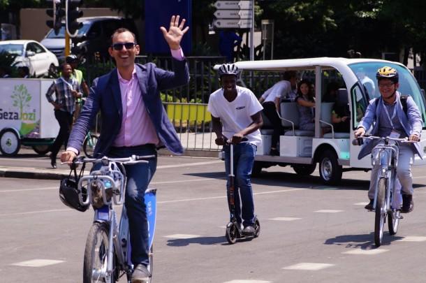 Johannesburgo intentó ir sin automóviles por un mes 6