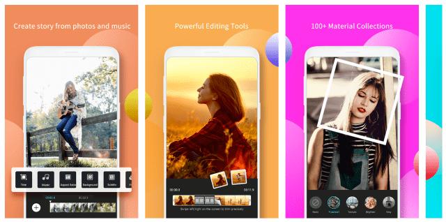 Capturas de pantalla de vcut-pro-app