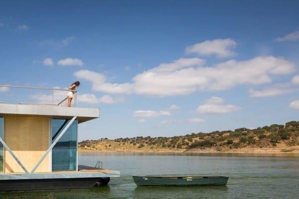 La increíble casa flotante es personalizable y autosuficiente 4