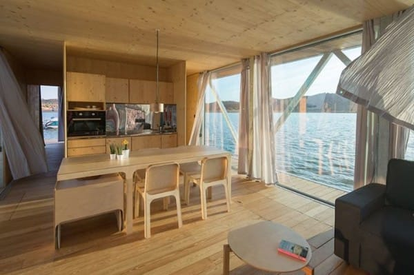 La increíble casa flotante es personalizable y autosuficiente 3