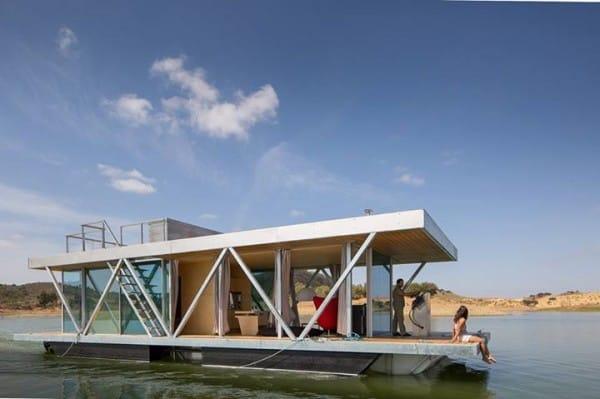 La increíble casa flotante es personalizable y autosuficiente 8