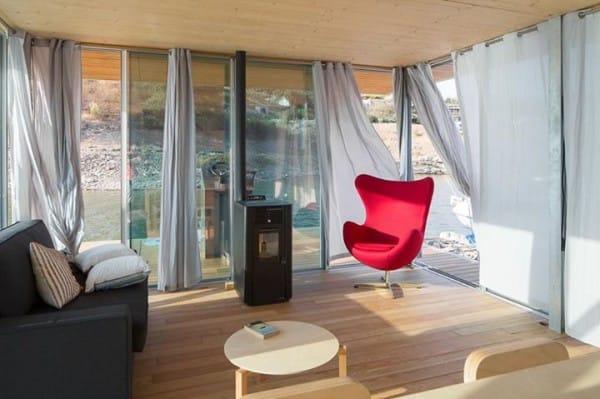 La increíble casa flotante es personalizable y autosuficiente 7