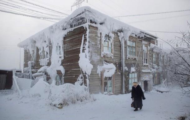 Oymyakon, la ciudad más fría del mundo21