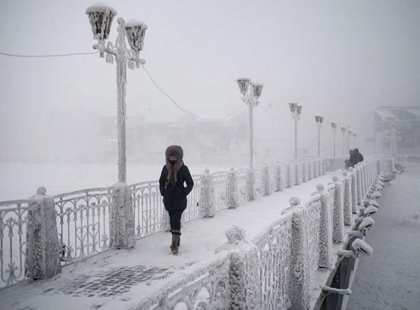 Oymyakon, la ciudad más fría del mundo28