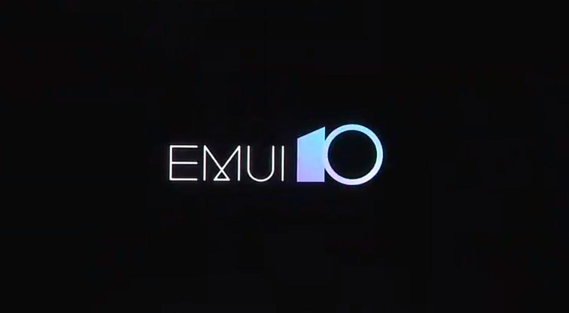 El logotipo de EMUI 10.