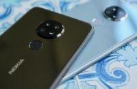 Nokia 6 2 cámaras negras y azules
