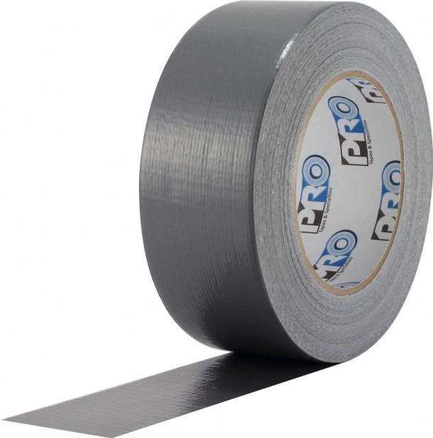 ProTapes Pro Duct 100 Cinta adhesiva económica de tela revestida de PE, 60 yardas de largo x 2