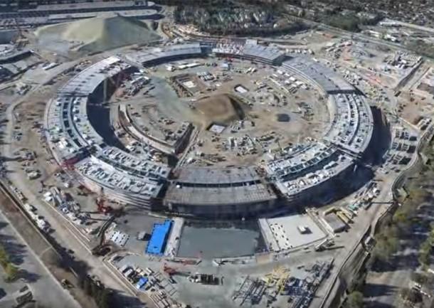 El nuevo campus de Apple, la nave espacial