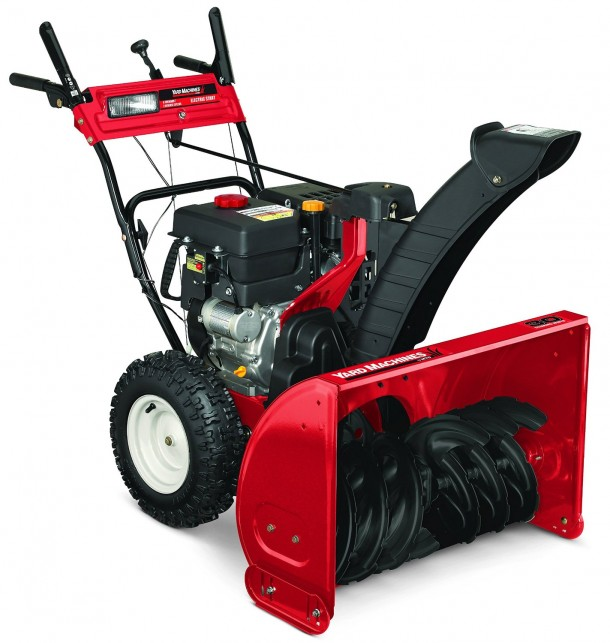 Yard Machines 30-Inch 357cc OHV 4-Cycle Powered Gas 6-Speed Self-Propelled Two-Stage Thrower Snow