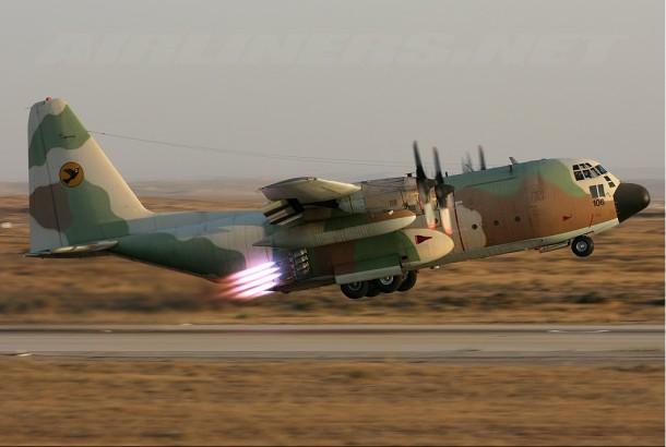 Cohete C-130 para la crisis de rehenes iraníes