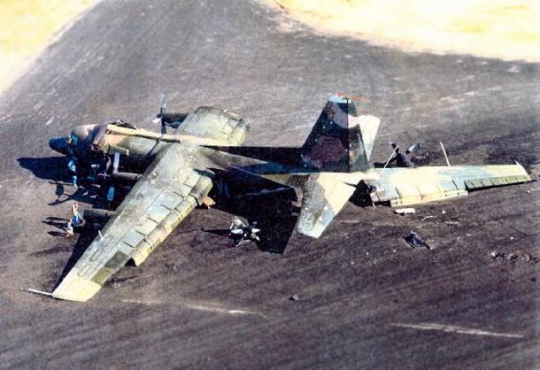 Irán modificado C130