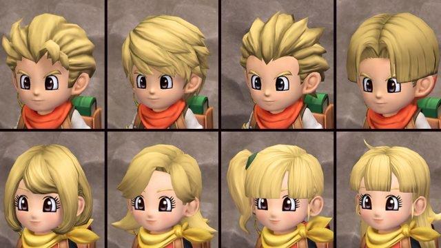 Dragon Quest Builders 2 última actualización gratuita de nuevos peinados
