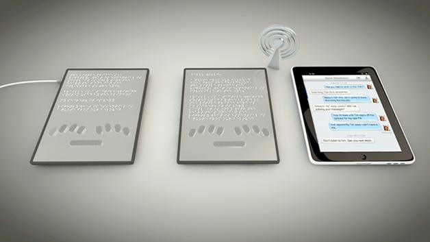 Sistema Braille Blitab2