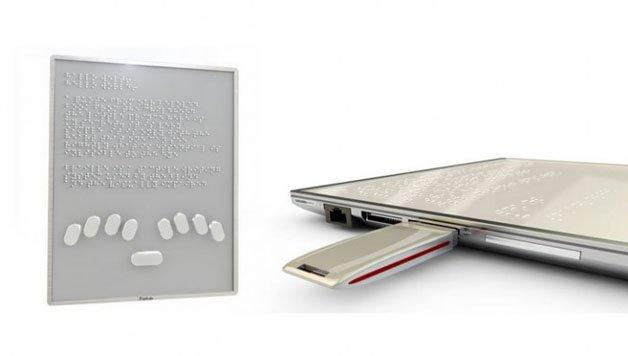 Sistema Braille Blitab