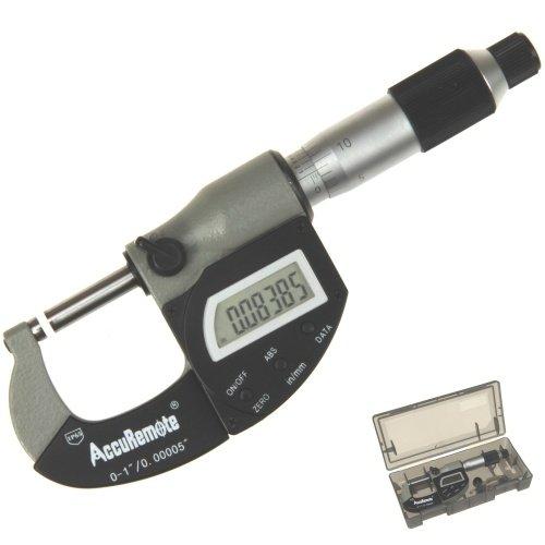 AccuRemote Digital Micrometer IP65 Protección electrónica contra polvo / agua