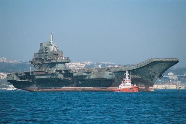 Portaaviones clase Liaoning chino Buques de guerra más grandes del mundo