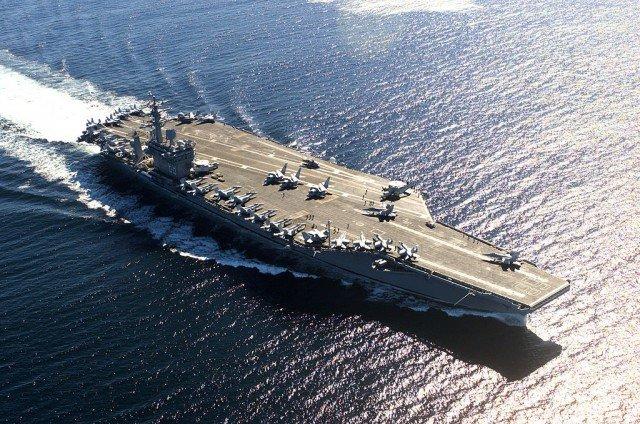 Portadores de clase Nimitz de EE. UU. Los buques de guerra más grandes del mundo
