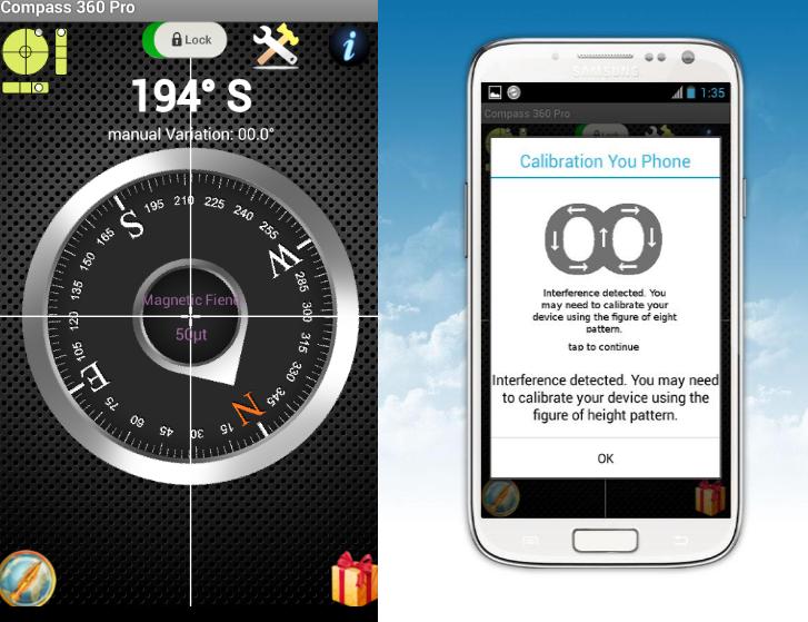 10 mejores aplicaciones de brújula gratis para Android «1