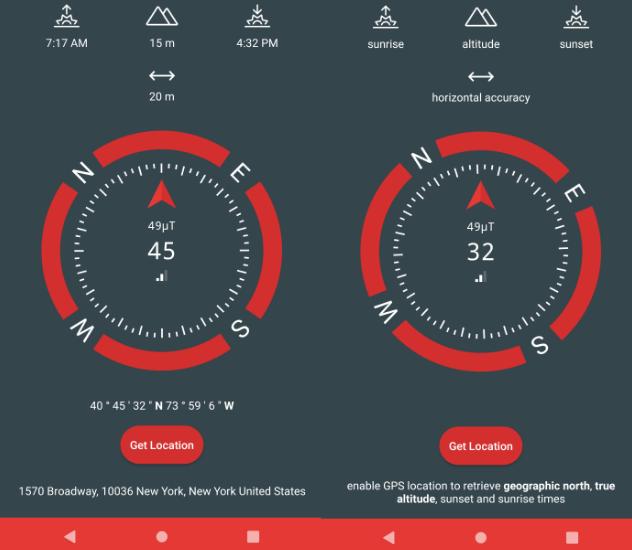10 mejores aplicaciones de brújula gratis para Android «7