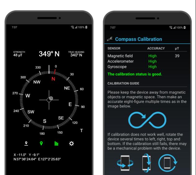 10 mejores aplicaciones de brújula gratis para Android «3