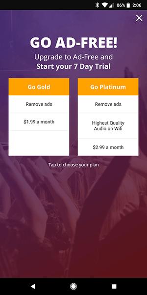 Las mejores aplicaciones gratuitas de descarga de música para Android 2