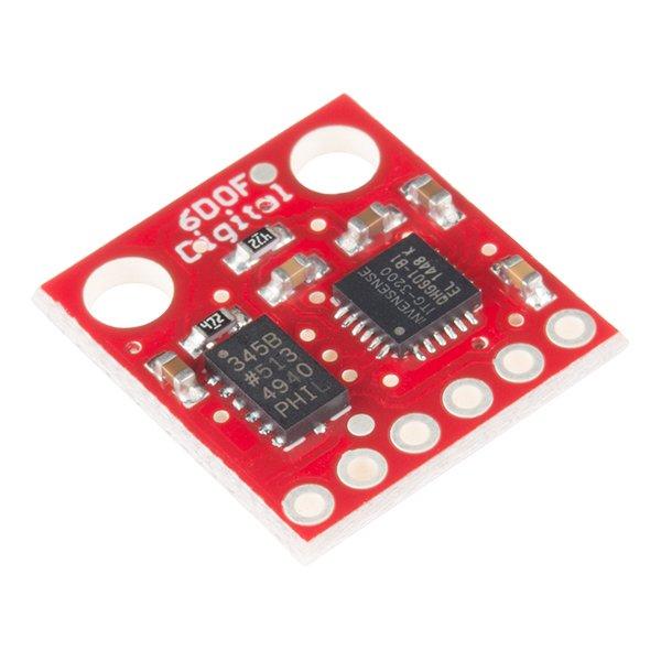 Tarjeta combinada digital IMU de 6 grados de libertad de SparkFun - ITG3200 / ADXL345