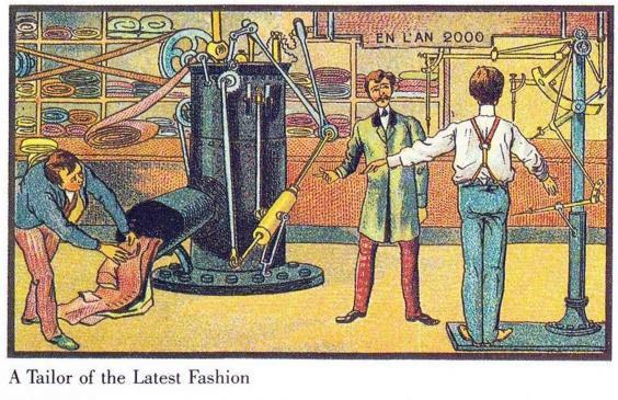 Predicciones del año 1900 sobre 2000-16