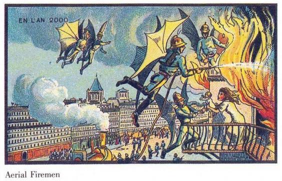 Predicciones del año 1900 sobre 2000-9