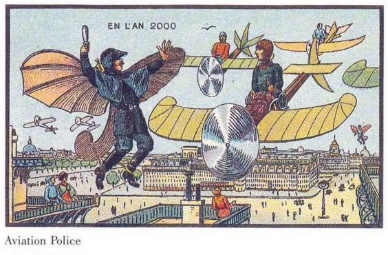 Predicciones del año 1900 sobre 2000-10