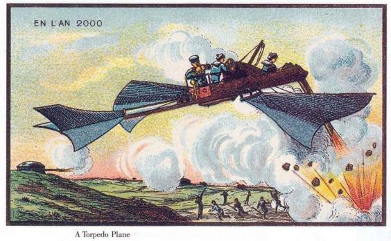 Predicciones del año 1900 sobre 2000-7