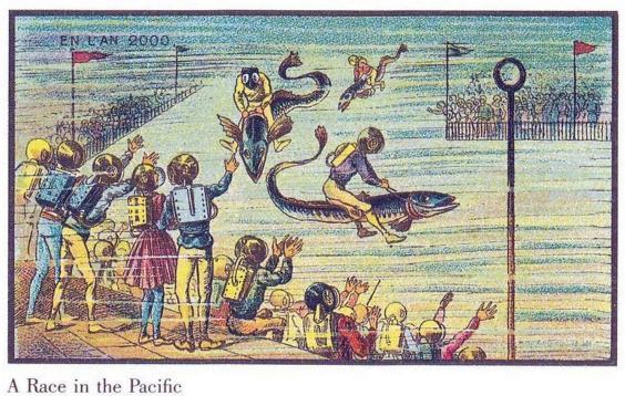 Predicciones del año 1900 sobre 2000-3