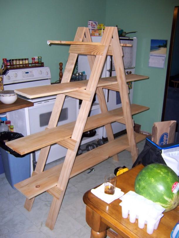 Aquí hay 21 formas en que puede usar esa vieja escalera suya 5