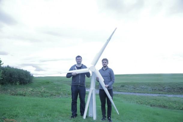 Las turbinas de viento portátiles Trinity son exactamente lo que necesitamos