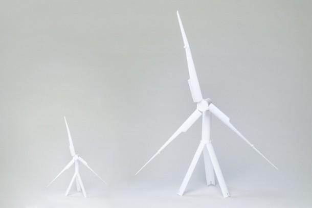 Las turbinas de viento portátiles Trinity son exactamente lo que necesitamos 3