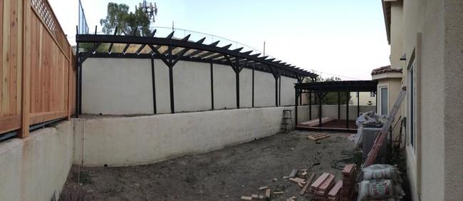 DIY patio trasero9